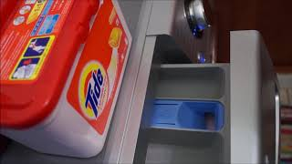 LG F10A8HDS5 washing machine - Towels (Allergy care cycle)