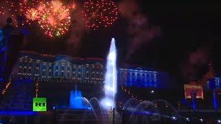 Праздник закрытия фонтанов в Петергофе — LIVE