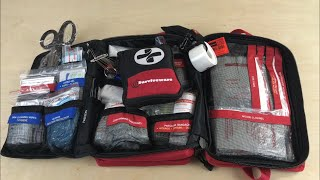 Surviveware LARGE First-Aid Kit: Well-Organized For A Variety of Applications