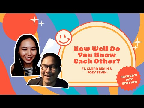 How Well Does Clara Benin and Her Dad Know Each Other? | Father's Day Edition