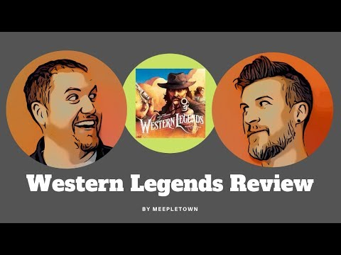 Western Legends Review and Overview - MeepleTown