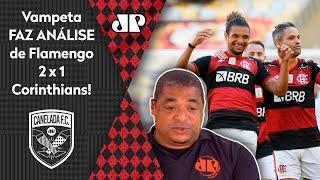 Olha o que o Vampeta falou após a vitória do Flamengo sobre o Corinthians
