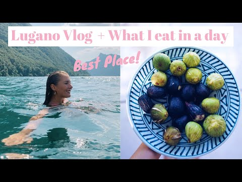 LUGANO VLOG + WHAT I EAT IN A DAY // Healthy + Simple + Vegan // Fruit Shopping in Italy!!