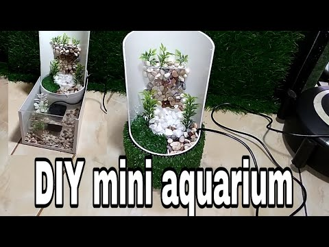DIY mini aquarium