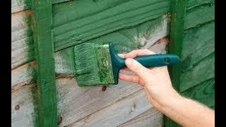 is antifreeze a good wood preservative
