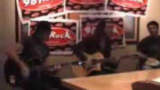 """Cinder Road Live at the 98 Rock Studio, """"Get In Get Out"""