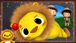 Going On A Lion Hunt! | Nursery Rhymes & Kids Songs! | Videos For Kids | ABCs And 123s