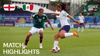 England v Mexico - FIFA U-20 Women's World Cup France 2018 - Match 20