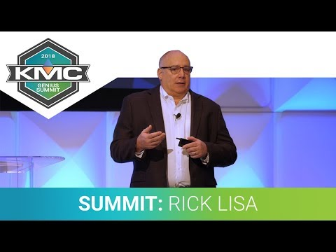 2018 KMC Genius Summit: Rick Lisa, Day 1 General Session