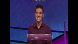 Jeopardy - James Holzhauer's First Record-Breaking Game