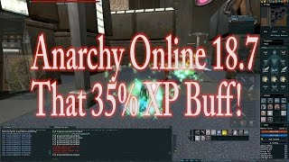 ANARCHY ONLINE 187 The 35% XP BUFF GUIDE Clan 1080p60 Gameplay / Walkthrough