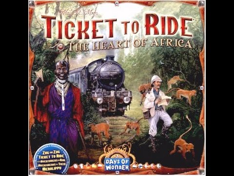 Ticket to Ride: Africa - A Forensic Gameology Review