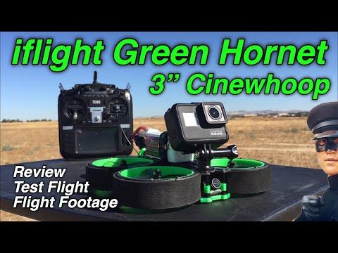iflight Green Hornet review and test flight plus flight footage