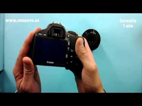 Cámara Digital Réflex CANON EOS 550D de segunda mano