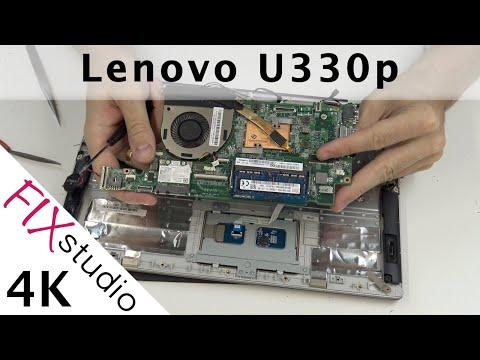 Lenovo U330p - disassemble [4K]