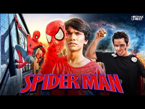 SPIDER MAN : SHORT FILM | FAR FROM HOME | #SpiderMan #Funny #Bloopers || MOHAK MEET