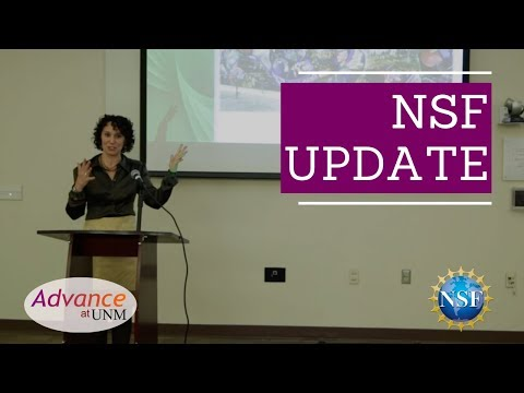 NSF talks to UNM faculty about updates in the organization