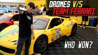 DRONES RACE TEAM FERRARI!