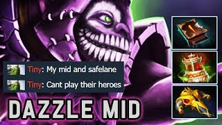How I Destroy Invoker Mid with Dazzle   Dota 2 Immortal Gameplay