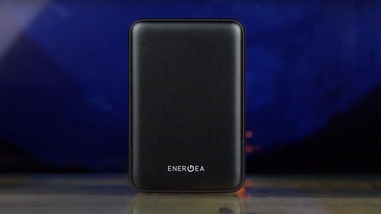 Портативная батарея Energea ComPac ALUMINI 10 000mAh (Black) video preview