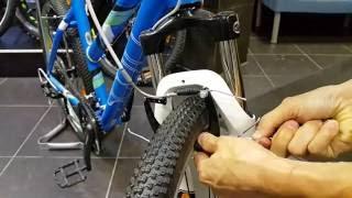 Видео: Настройка ободных тормозов v-brake