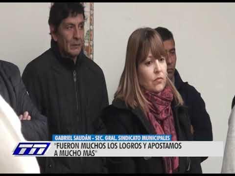 Asumió la nueva comisión directiva del  Sindicato de Trabajadores Municipales