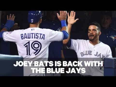 Where does Bautista rank among Blue Jays' franchise leaders?