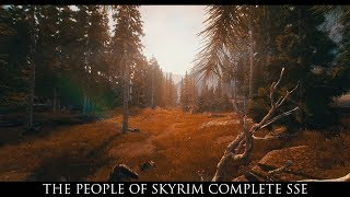 Skyrim SE Mods: The People Of Skyrim Complete SSE