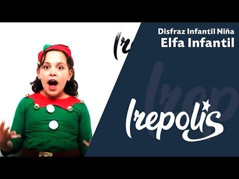 Disfraz de Elfo Infantil Niña