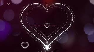 Hearts background video | hearts background overlay | hearts background video effects | Royalty-Free