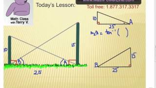 Viewer Challenge: Right Triangle Application, Guy Wires