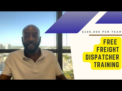 Work from home as a Freight Dispatcher: Free Training!!! - YouTube