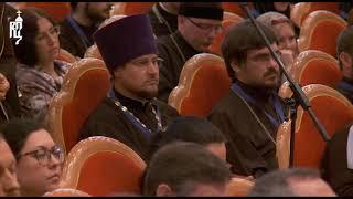Патриарх Кирилл ответил на вопросы участников VIII Международного фестиваля «Вера и слово»
