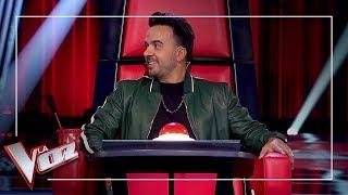 El verdadero poder del bloqueo para Luis Fonsi | Momentazo | La Voz Antena 3 2019