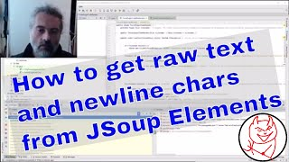 JSoup Tip How to get raw element text with newlines in Java - Parsing HTML and XML with JSoup