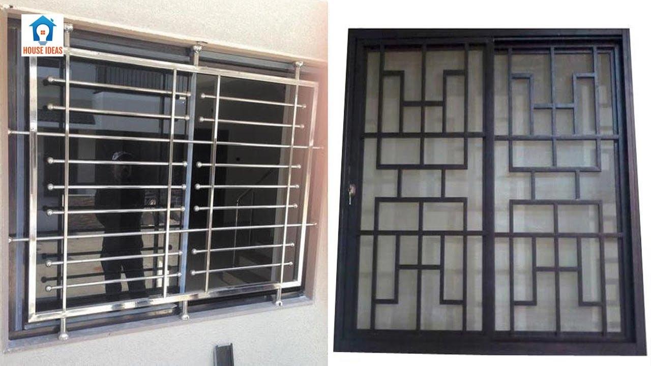 Best windows grills design ideas | window iron grill ...