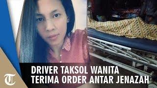 Wanita Sopir Taksi Online di Garut Terima Order Antar Jenazah Pukul 04.00 Dini Hari, Kisahnya Viral