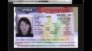 USCIS Immigrant Fee Tutorial, Green Card, Resident Card,  New version for 2018. $220
