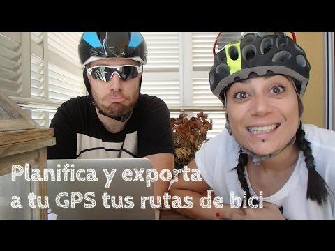 Planifica y exporta a GPS tus rutas de bici