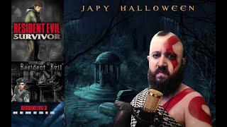 Especial Halloween Cosplay+ Re3+Re1 PC+Resident survivor - gameplay Español