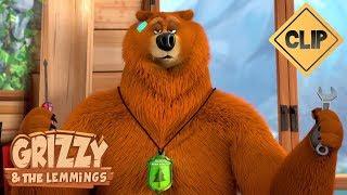 Grizzy est au le roi des technologies  - Grizzy & les Lemmings