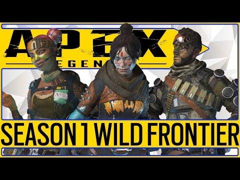 🔥WILD FRONTIER🔥 New Season 1 Apex Legends Battle Pass Price And Details