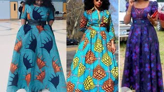 2020 AFRICAN DRESSES: MOST STYLISH AND FLAWLESS African Ankara Styles For Beautiful Ledies