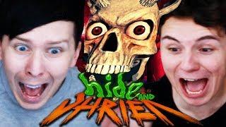 THE JUMPSCARE SHOWDOWN - Dan vs. Phil: Hide and Shriek