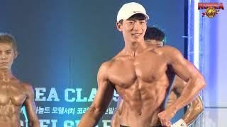 [KOREA CLASSIC] MEN FITNESS MODEL MEDIUM 1ROUND 코리아클래식 남자 피트니스 모델 미디움
