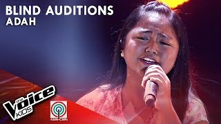 Adah Leosala - Akin Ka Na Lang | Blind Auditions | The Voice Kids  Philippines Season 4