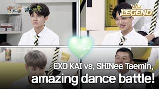 EXO KAI vs. SHINee Taemin, amazing dance battle! [Happy Together / 2017.08.31]