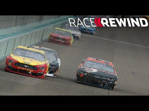 NASCAR フォード・エコブースト400(ホームステッドマイアミスピードウェイ)15分ハイライト動画