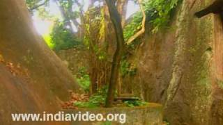 The historical Cave Temple at Kaviyoor.
