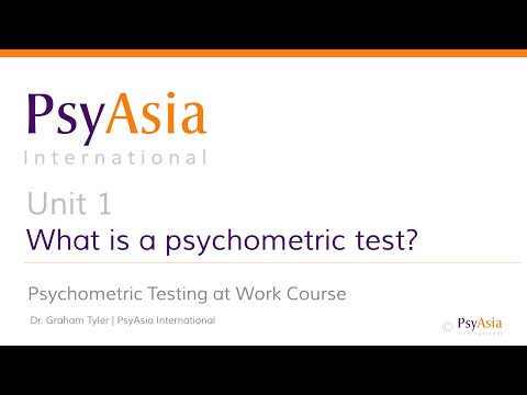 Free Psychometric Test Course: What is a Psychometric Test ...